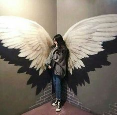 Imagen de ulzzang girl and ulzzang couple Girl Beach Pictures, Couple Pictures, Wall Painting Decor, Mural Wall Art, Dance Studio Design, Illusion Photos, Angel Wings Art, Cute Couple Poses, Ulzzang Couple