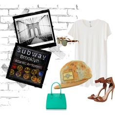 """""""Bad in Brooklyn"""" by lids4hats on Polyvore"""