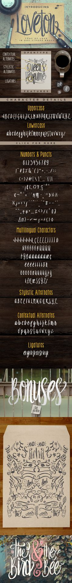 Loveton Typeface Font by Irwanismoyo | 22 Professional & Artistic Fonts Apr…