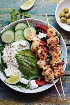 Tandoori Chicken, Cobb Salad, Diet Recipes, Grilling, Food And Drink, Low Carb, Menu, Ethnic Recipes, Food And Drinks