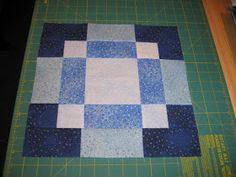 Quilt Block Patterns, Pattern Blocks, Quilt Blocks, Quilting Tutorials, Quilting Projects, Quilting Designs, Quilting Tips, Disappearing Nine Patch, Nine Patch Quilt
