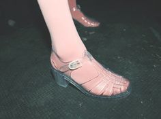 hahaha i totally had these in fourth grade, i would still wear jellys but not jelly high heels, eak