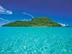 Tropical Island, Samoa.