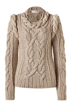PRINGLE OF SCOTLAND Oatmeal Cashmere Pullover