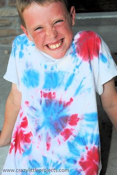 4th of July Tie Dye Shirt