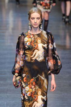 Simple Love. Dolce & Gabbana Fall 2012