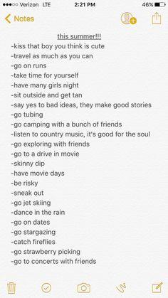 Life goals, summer vibes, summer insta captions, summer bucket list for teens, Summer Insta Captions, Goals Tumblr, How To Get Tan, Things To Do When Bored, Summer Goals, Girls Life, Motivation, Life Goals, Summer Vibes