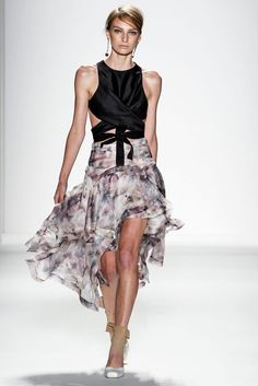 Flowy skirts are all the rage at #nyfw. #Zimmerman Spring 2014