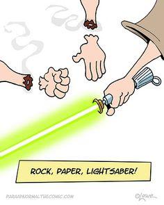 Rock, Paper, Light Saber!