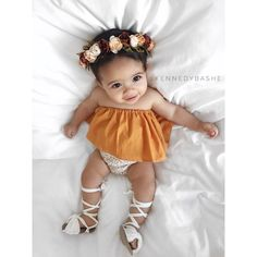 """4,764 Likes, 156 Comments - @kennedybashe on Instagram: """" . . . Outfit & flower crown: @myfashion.baby Sandals: @brave.threads"""""""
