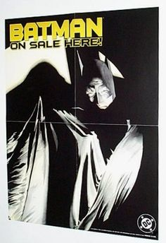 "Original 1998 Batman the Dark Knight Detective DC Comics Shop 1990's 22 by 17 ""On Sale Here"" Promo Poster: Alex Ross Art DC Comics,http://www.amazon.com/dp/B001ON0ANY/ref=cm_sw_r_pi_dp_9kC9rb0500CY05GQ"