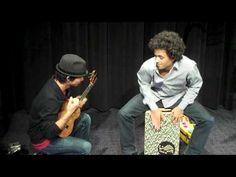 Cajon & Ukulele Jam with Jake Shimabukuro (Part 2/2)