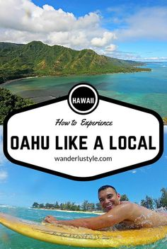 HOW TO EXPERIENCE OAHU AS A LOCAL We're sharing our favorite spots on Oahu that may help others avoid the tourist traps. If you want a different experience, to see things in a new perspective; see things like a local! Hawaii Surf, Mahalo Hawaii, Hawaii Life, Hawaii 2017, Hawaii Trips, Kailua Hawaii, Blue Hawaii, Oahu Vacation, Vacation Spots