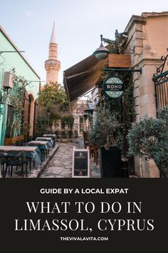 What to do in Limassol? Here are top picks on what to see, do and where to eat in Limassol written by a local expat. #limassol #cyprus #cyprusguide #cyprustravel #limasssolcyprus #kourion #limassolcity #limassolmarina #limassolrestaurants