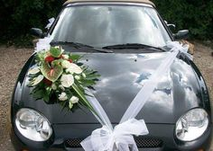 Inspiring Wedding Car Decorations