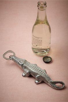 Bottle opener lion and brass on pinterest - Alligator bottle opener ...