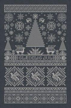 Scandinavian Christmas Sampler Instant Download PDF от modernfolk
