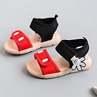 Boys' Shoes Casual Fabric Sandals Summer Comfort / Open Toe Hook & Loop Red…