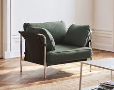 Be the first to see HAY's new furniture collection. Innovative and timeless designs for home, office and outdoor use. Explore HAY's new furniture here. Sofa Design, Hay Design, Interior Design, Modern Interior, Steel Furniture, New Furniture, Furniture Design, Sofas, Armchairs