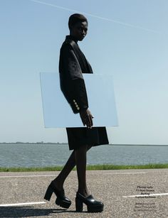 Kinee Diouf by Viviane Sassen for AnOther Magazine Fall/Winter 2013/2014 | The Fashionography