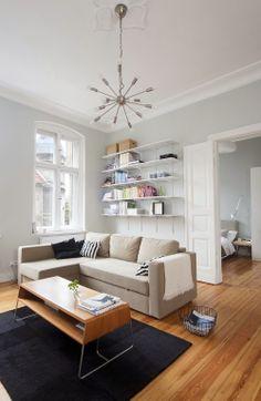 Minimalistyczne mieszkanie 62m2 położone w Poznaniu