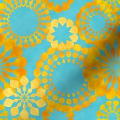 @susiekarlsson posted to Instagram: golden flowers on blue background frabric on Soonflowers #golden #ilovemygolden #flowermagic #flowers #fabricdesign #textiledesign #surfacedesign #patterndesign #pattern #texture #retroflowers Textile Design, Fabric Design, Pattern Design, Retro Flowers, Blue Backgrounds, Abstract Pattern, Surface Design, Texture, Patterns