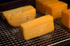 Infuse everything from cheddar to Monterey Jack with flavorful hardwood smoke on the Traeger. Traeger Recipes, Grilling Recipes, Smoked Cheese, Camp Chef, Roasting Pan, Smokers, Outdoor Cooking, Grills, Sausage