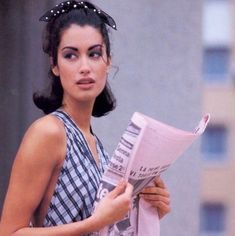 """puppetwithapistol: """"""""Yasmeen Ghauri in """"Summer Systems"""" by Marc Hispard for Vogue US, June """" """" 90s Models, Vogue Us, Supermodels, Fashion Photography, Tumblr, T Shirts For Women, People, Beauty, Paradise"""