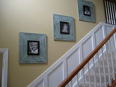 Chunky Picture Frames - DIY