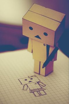 Danbo And Zen Pebbles Wallpapers) – Beautiful Wallpapers Danbo, Cute Photos, Cute Pictures, Emoji Pictures, Box Robot, Amazon Box, Robots Characters, Cute Box, Kawaii
