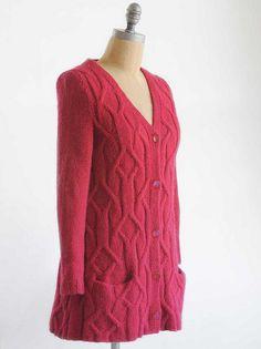 Jazzy Cardigan by Olga Buraya-Kefelian #knit