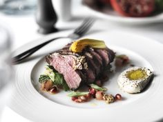 Lamb Rump and Cracked Wheat Tabbouleh Cracked Wheat, Party Dishes, Lamb, Steak, Spices, Herbs, Beef, Recipes, Food