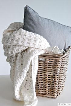 for the love of baskets and soft furnishings