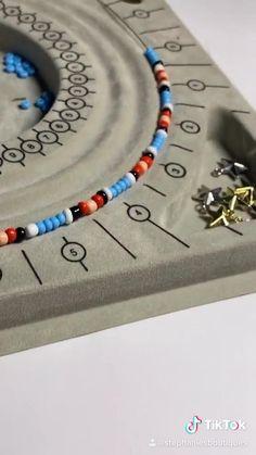Seed Bead Jewelry, Cute Jewelry, Beaded Jewelry, Beaded Bracelets, Trendy Jewelry, Embroidery Bracelets, Diy Bracelets Easy, Handmade Bracelets, Handmade Jewelry