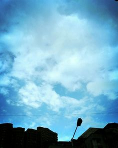 There is a sky !