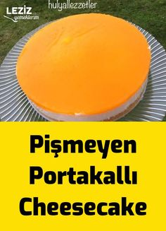 Pişmeyen Portakallı Cheesecake – Leziz Yemeklerim – Diyet Yemekleri – The Most Practical and Easy Recipes Cheesecake Desserts, Cheesecake Brownies, Oreo Desserts, Lemon Cheesecake, Snack Recipes, Dessert Recipes, Healthy Recipes, Healthy Food, Meat Appetizers