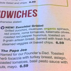 New Zucchini Grillini @ Jason's- must re-make at home soon!