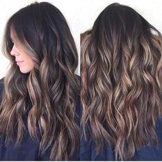 11+ Best Dark Brown Hair with Caramel Highlights