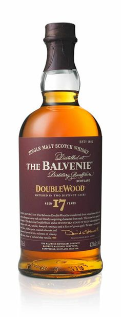 The Balvenie - DoubleWood 17 - Aged 17 Years Rum Bottle, Liquor Bottles, Malta, Alcohol Mixers, Peach Drinks, St Patricks Day Drinks, Master Of Malt, Whiskey Cocktails, Single Malt Whisky