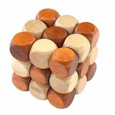 Brain Teaser Games, Brain Teaser Puzzles, Wooden Toys For Toddlers, Toddler Toys, 3d Puzzles, Wooden Puzzles, Puzzle Cube, Puzzle Pieces, Cube Games