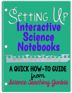 Setting Up Interactive Science Notebooks