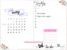 May Digital Planner Layout Setup in the GoodNotes app