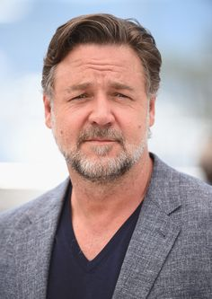 """Russell Crowe Photos - Actor Russell Crowe attends """"The Nice Guys"""" photocall during the 69th annual Cannes Film Festival at the Palais des Festivals on May 15, 2016 in Cannes, France. - 'The Nice Guys' Photocall - The 69th Annual Cannes Film Festival"""