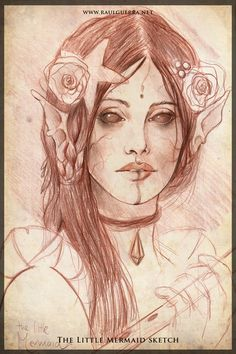 The Little Mermaid sketch by chicourano.deviantart.com on @deviantART