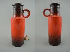 Vintage Vase / Scheurich / 401 28 | West Germany | WGP | 60er von ShabbRockRepublic auf Etsy