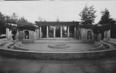 Greek Theater at Beale Park, circa 1920 Bakersfield, CA