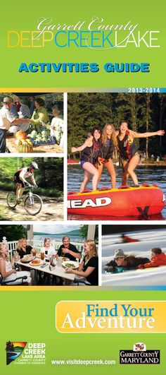 Deep Creek Lake Activities Guide