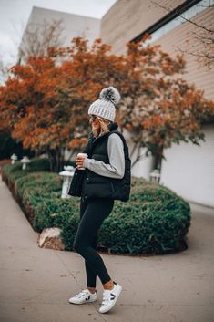 Mix-and-Match Cold Weather Wardrobe Must-Haves (Cella Jane) Winter Mode Outfits, Casual Winter Outfits, Winter Fashion Outfits, Look Fashion, Autumn Winter Fashion, Autumn Outfits Women, Comfortable Fall Outfits, Vest Outfits For Women, Fashion Dresses