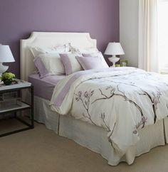Lilac Bedroom || GlucksteinHome | My Bedroom Ideas | Pinterest