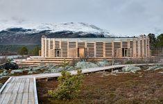 Naturum Laponia skapades för extremt väder - Svenskt Trä